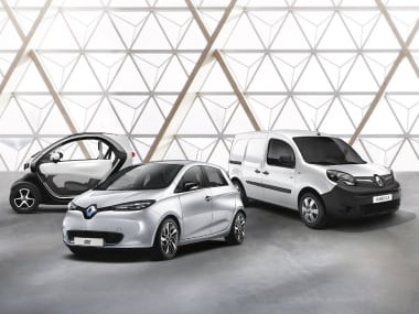 Carros elétricos Renault