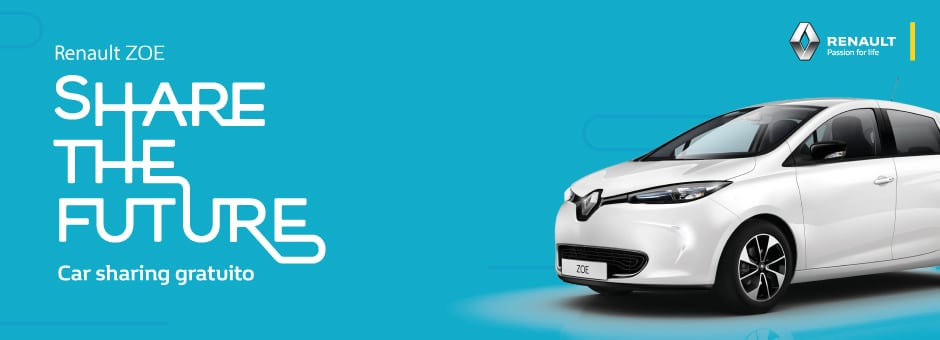 Renault ZOE Car sharing