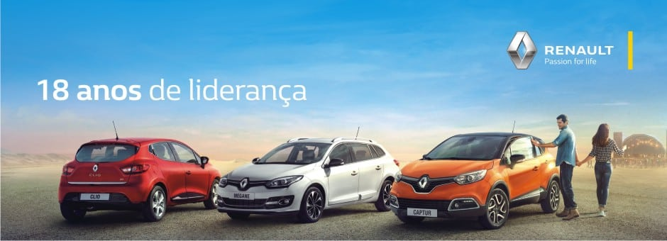 Renault - 18 anos de liderança