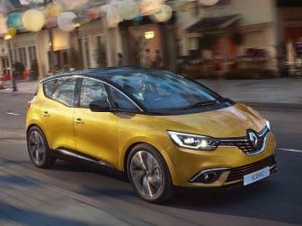 Novo Renault Scenic na Caetano Formula