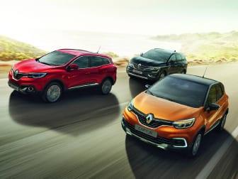 Agora tem mais 350 razões para comprar o seu Renault na Caetano Formula.