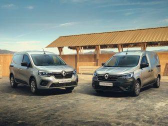 Novo Renault Kangoo Van & Express Van: Disponíveis para entrega imediata a partir de 239€/mês*